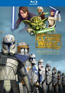 Star Wars - The Clone Wars - Seasons 1-5 Collector's Edition