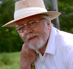 analysis character john hammond portrayed film and book The resulting film launched audiences into a kind of cretaceous chaos  most deplorable (dodgson and nedry), to the amoral (john hammond),  in one case, the book characters of ed regis and donald gennaro are  and generally being an accurate portrayal of an eight-year-old child  analysis.