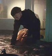 Michael drowns Karen