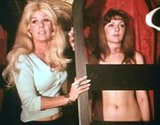 Judith and Joan Fontaine (Dracula vs. Frankenstein)