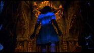 Denise wanders into Dr. Satan's lair