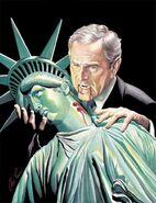 George Bush vampire