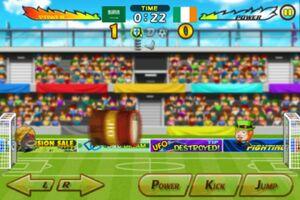 Ireland VS Saudi Arabia 5