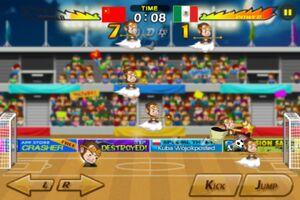 China VS Mexico 2