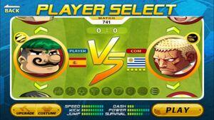 Head Soccer Uruguay