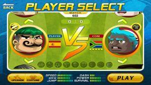 Repubblica Sudafricana Head Soccer