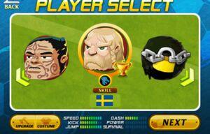 Sweden in Tournament