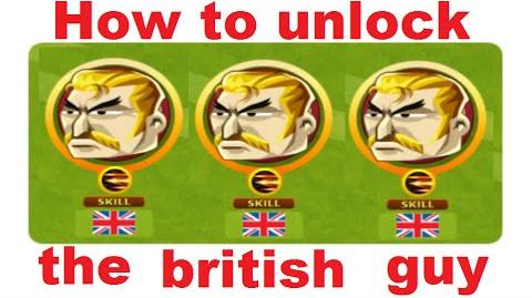 How to unlock the british guy in Headsoccer TUTORIAL