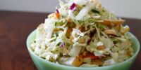 Asian Apple Pear Slaw