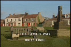 The Family Way title card