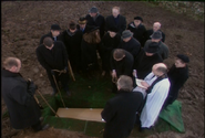 The funeral of Samuel Hawkins in Testament