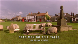 Dead Men Do Tell Tales title card