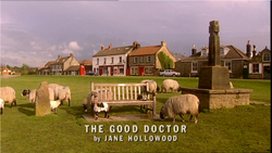 The Good Doctor title card