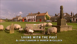Living With the Past title card