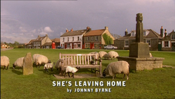She's Leaving Home title card