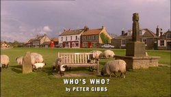 Who's Who title card 2