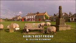 A Girl's Best Friend title card