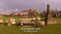 Judgement Day title card