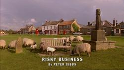 Risky Business title card