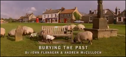 Burying the Past title card
