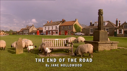 The End of the Road title card