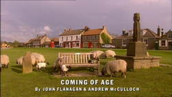 Coming of Age title card