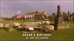 Oscar's Birthday title card