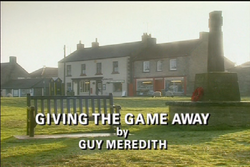 Giving the Game Away title card