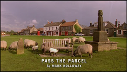 Pass the Parcel title card