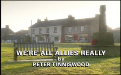 We're All Allies Really title card