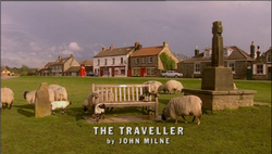 The Traveller title card