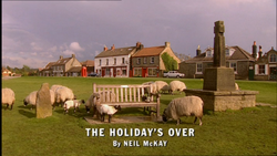 The Holiday's Over title card
