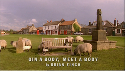 Gin a Body, Meet a Body
