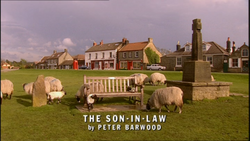 The Son-In-Law title card