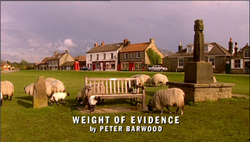Weight of Evidence title card