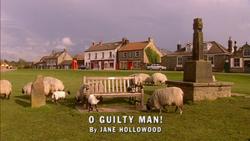 O Guilty Man! title card