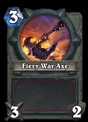 FieryWarAxe