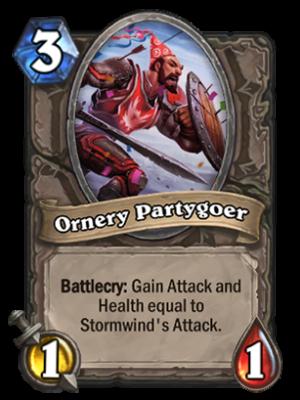 Ornery Partygoer