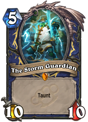 The Storm Guardian | Hearthstone: Heroes of Warcraft Wiki ...