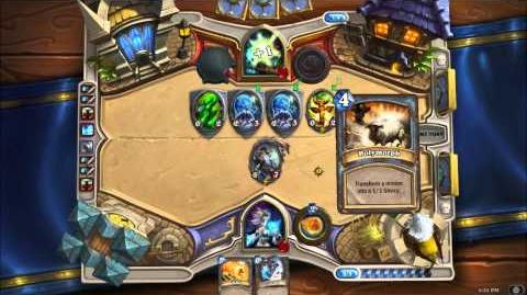 Hearthstone Heroes of Warcraft - Mage vs