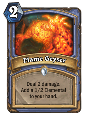 Flame Geyser