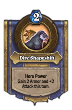 DireShapeshift
