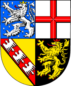 File:Coat of arms of Saarland.png