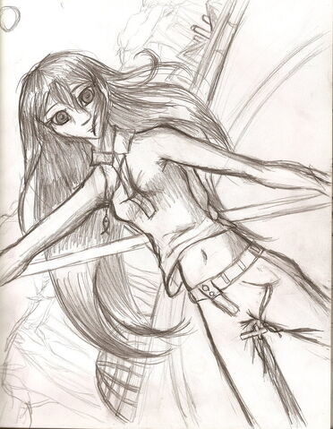 File:A girl with a staff by malangelleliorahan.jpg