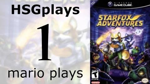"""HSGplays"" Mario Plays - Star Fox Adventures - Prologue Part 1"