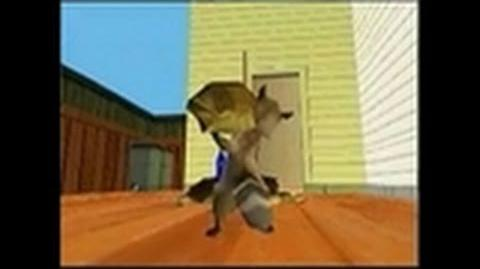 Over the Hedge Nintendo DS Gameplay - Get past the dog