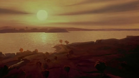 File:Sunset over the Nile.png