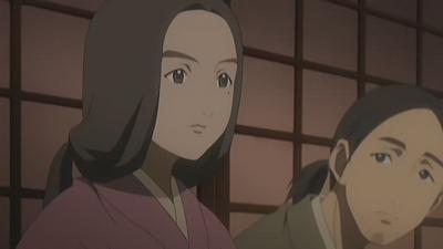 S2 EP 19 Hanae (Left) And Yuuhei (Right)
