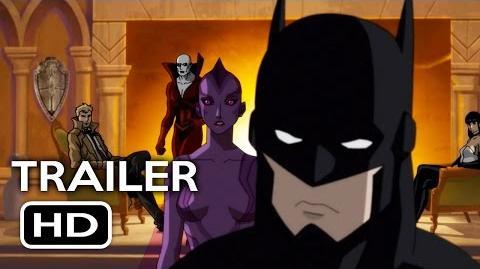 Justice League Dark Official Trailer 1 (2017) Animated DC Superhero Movie HD
