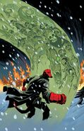 Hellboy Winter Special (Michael Avon Oeming cover)
